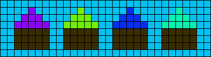 Alpha pattern #2054