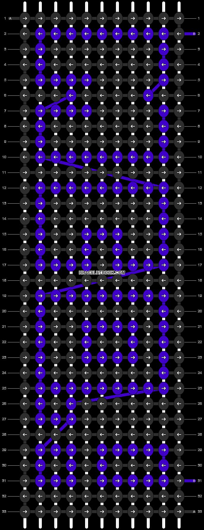 Alpha pattern #2057 pattern