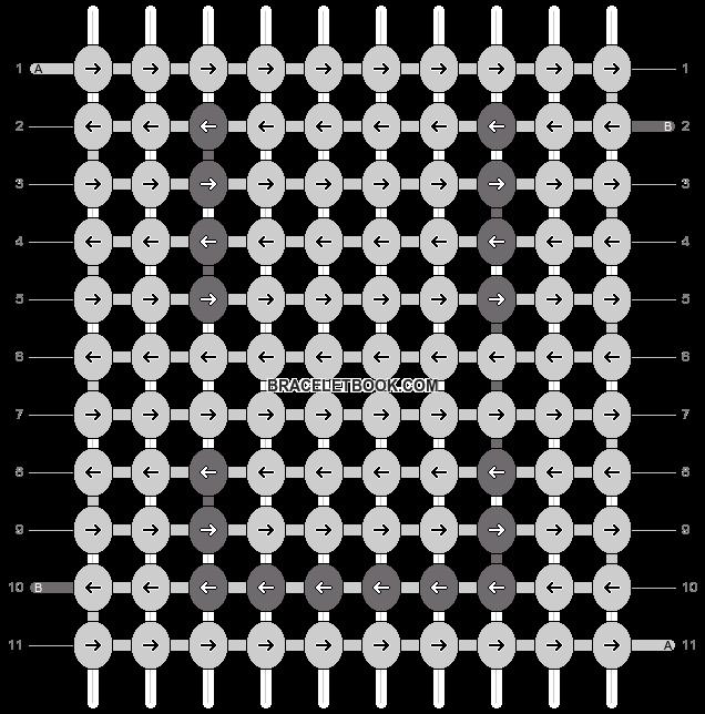Alpha pattern #2061 pattern