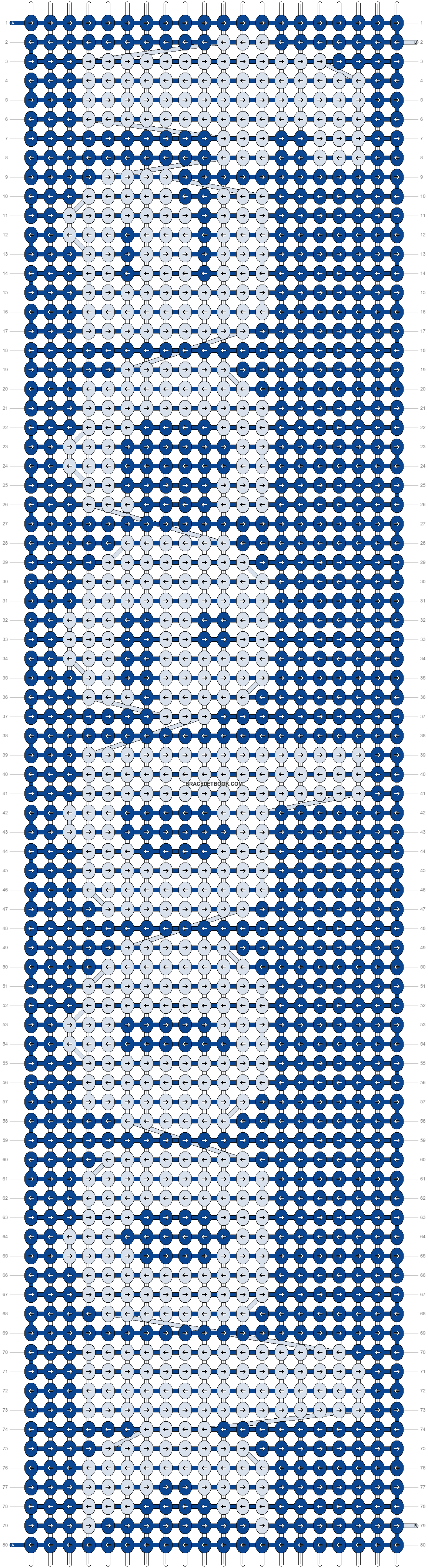 Alpha pattern #2065 pattern
