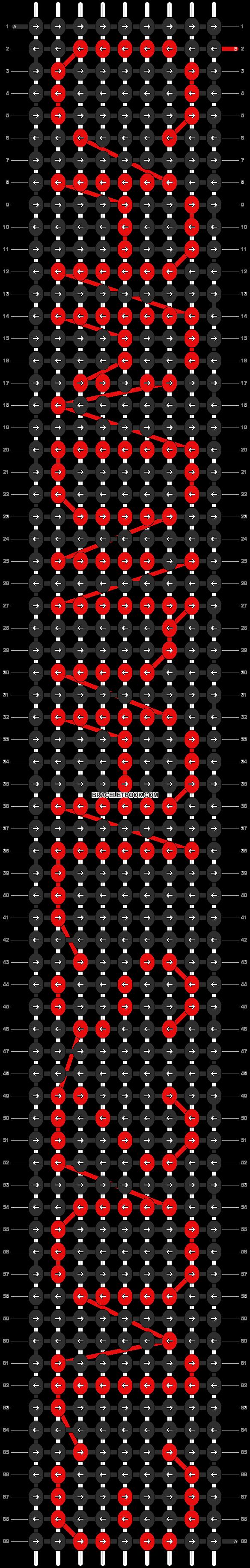 Alpha pattern #2072 pattern