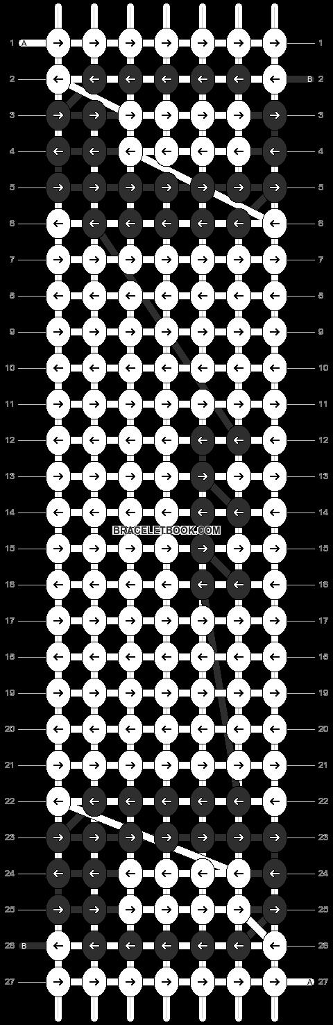 Alpha pattern #2076 pattern