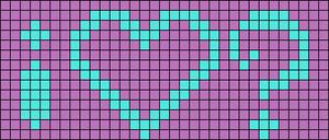 Alpha pattern #2077
