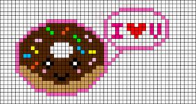 Alpha Friendship Bracelet Pattern #2083