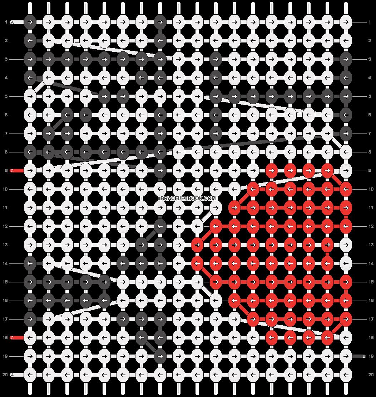 Alpha pattern #2088 pattern
