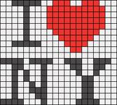Alpha Friendship Bracelet Pattern #2088