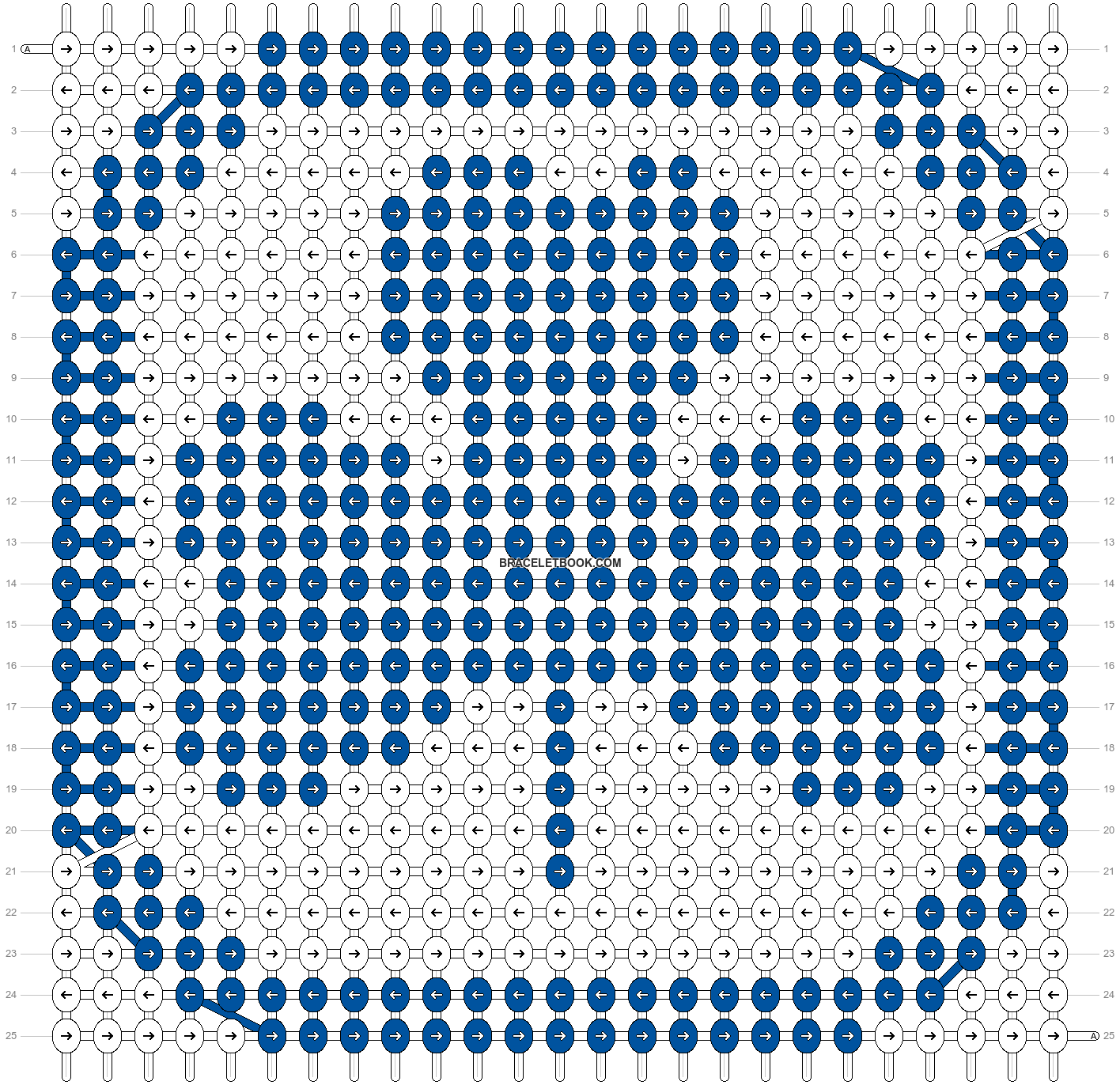 Alpha pattern #2089 pattern