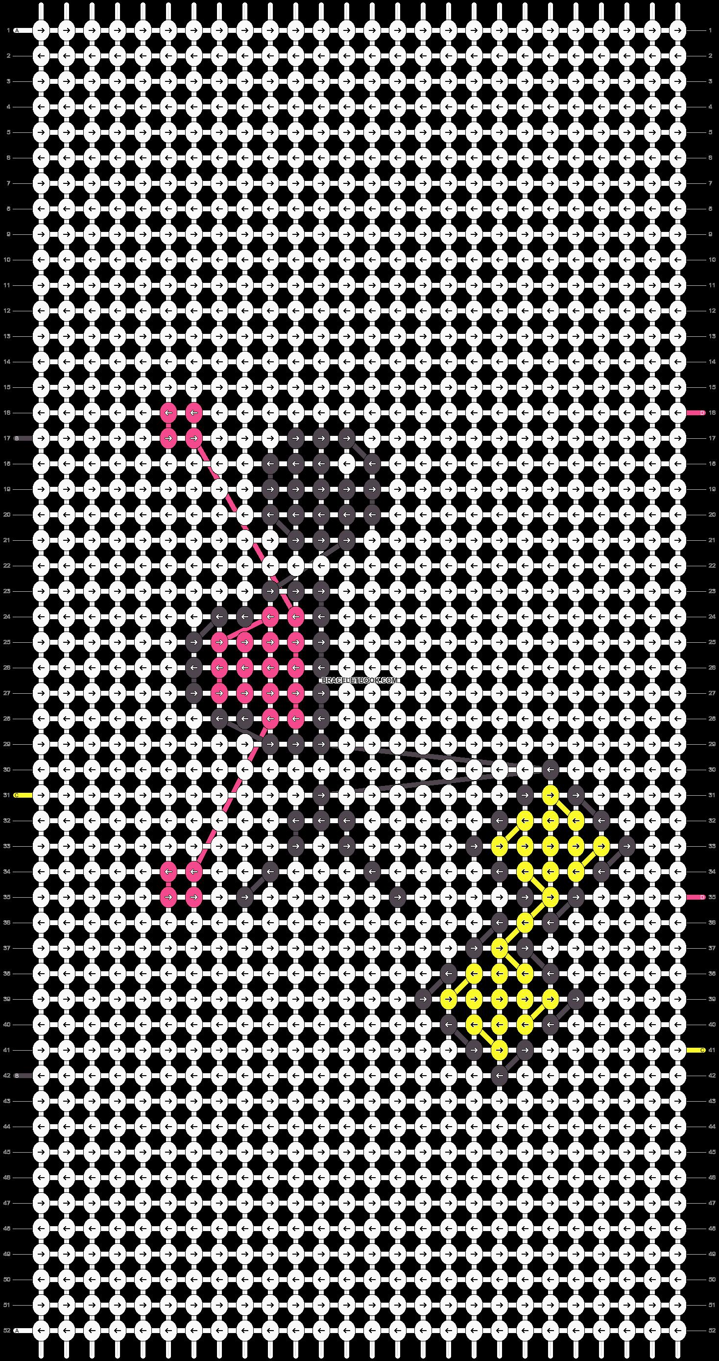 Alpha pattern #2090 pattern
