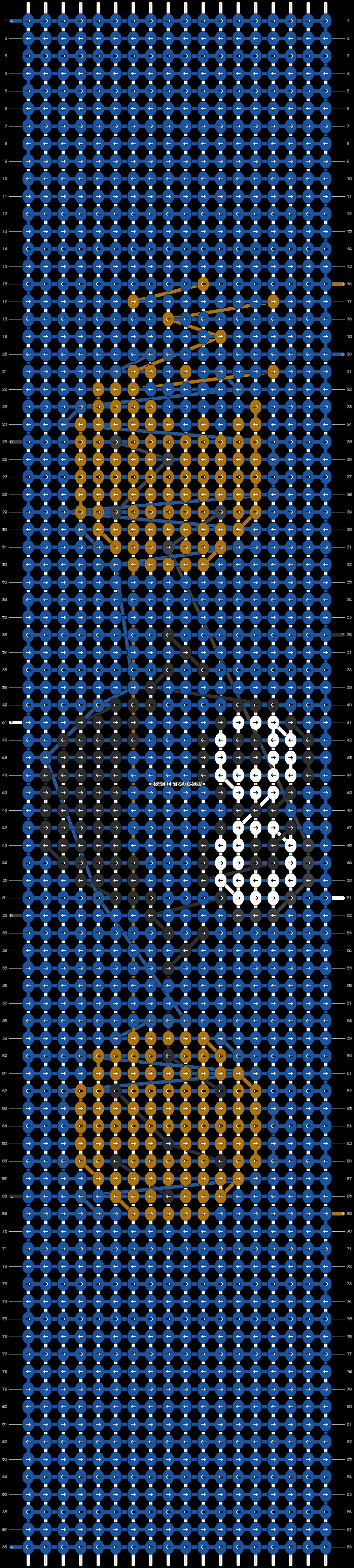 Alpha pattern #2091 pattern