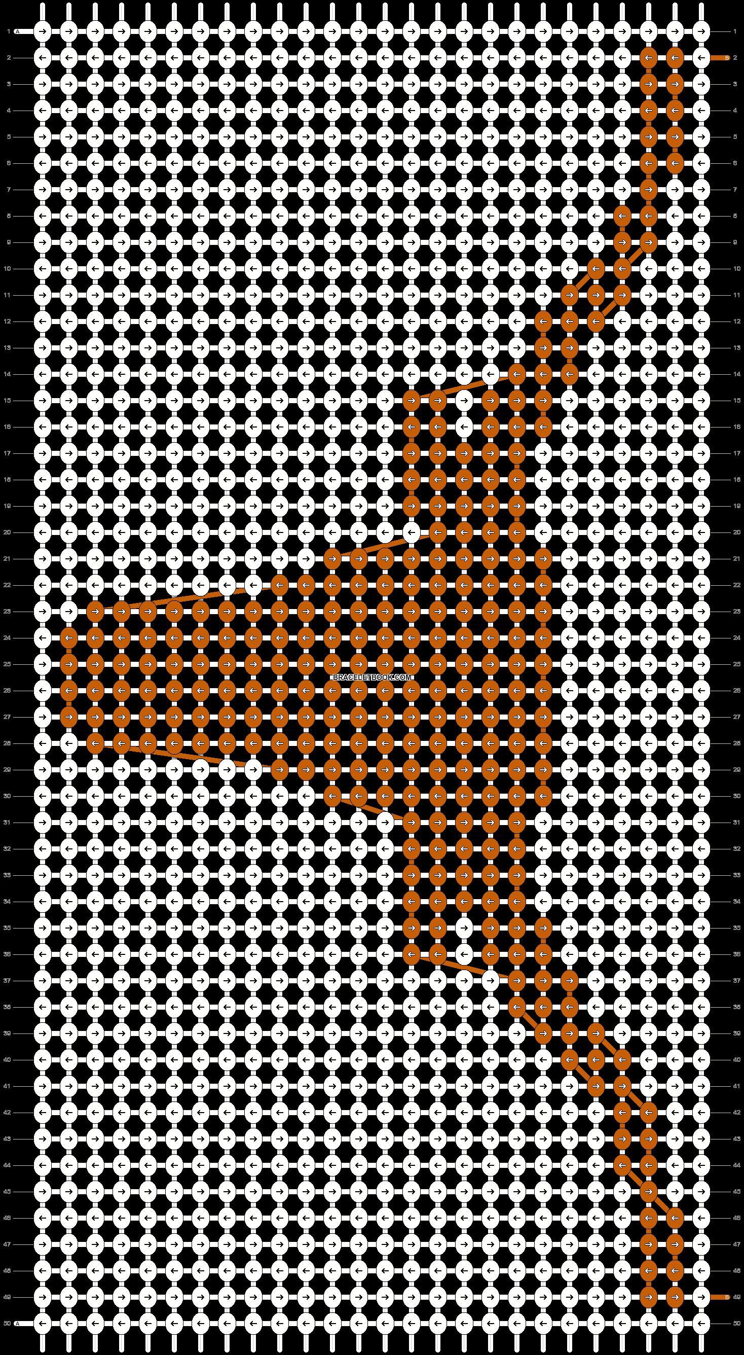 Alpha pattern #2099 pattern
