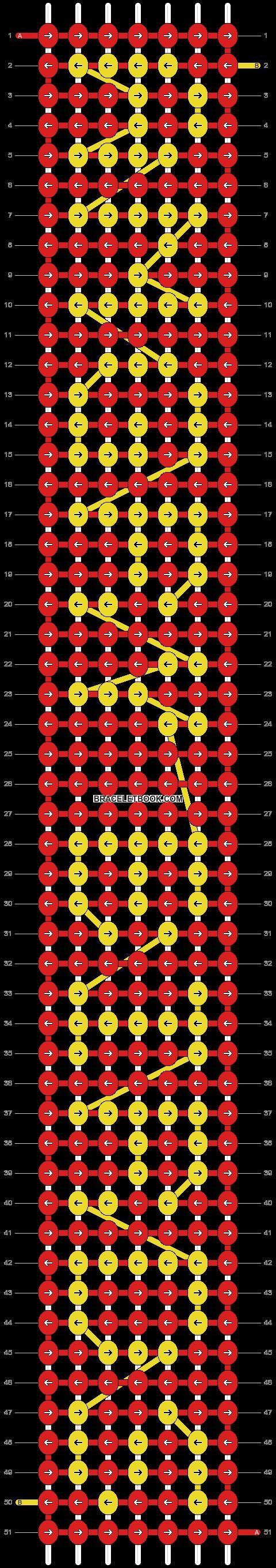 Alpha pattern #2108 pattern