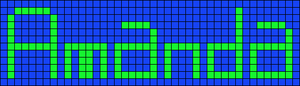 Alpha pattern #2110