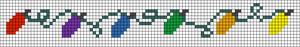 Alpha Friendship Bracelet Pattern #2118