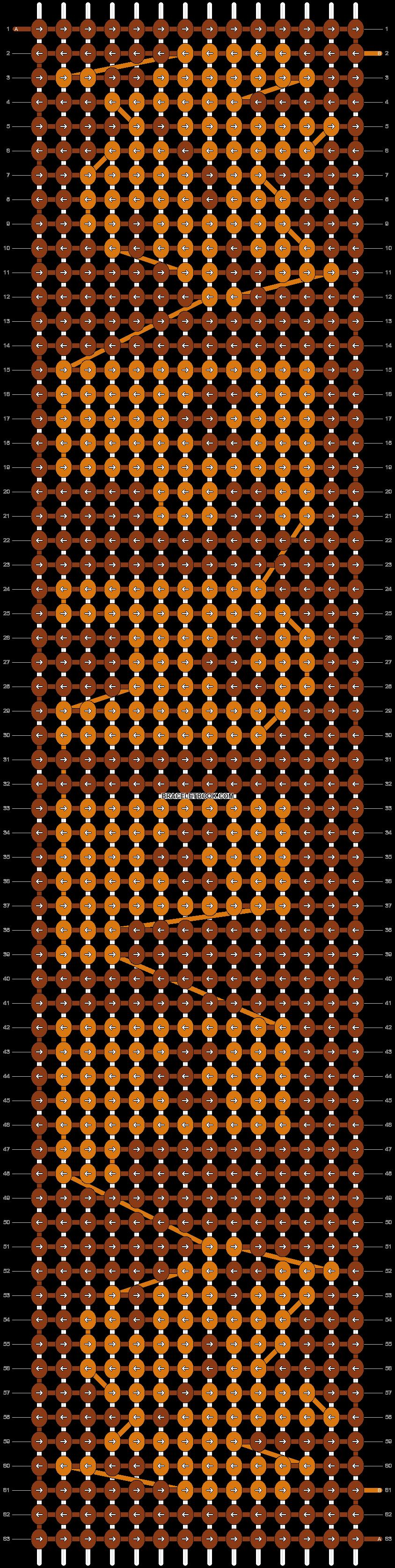 Alpha pattern #2124 pattern