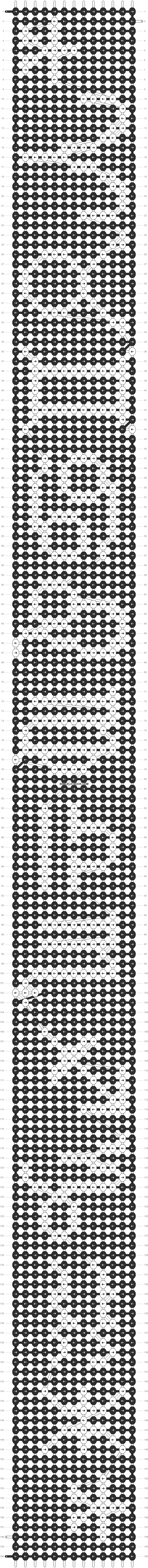 Alpha pattern #2127 pattern