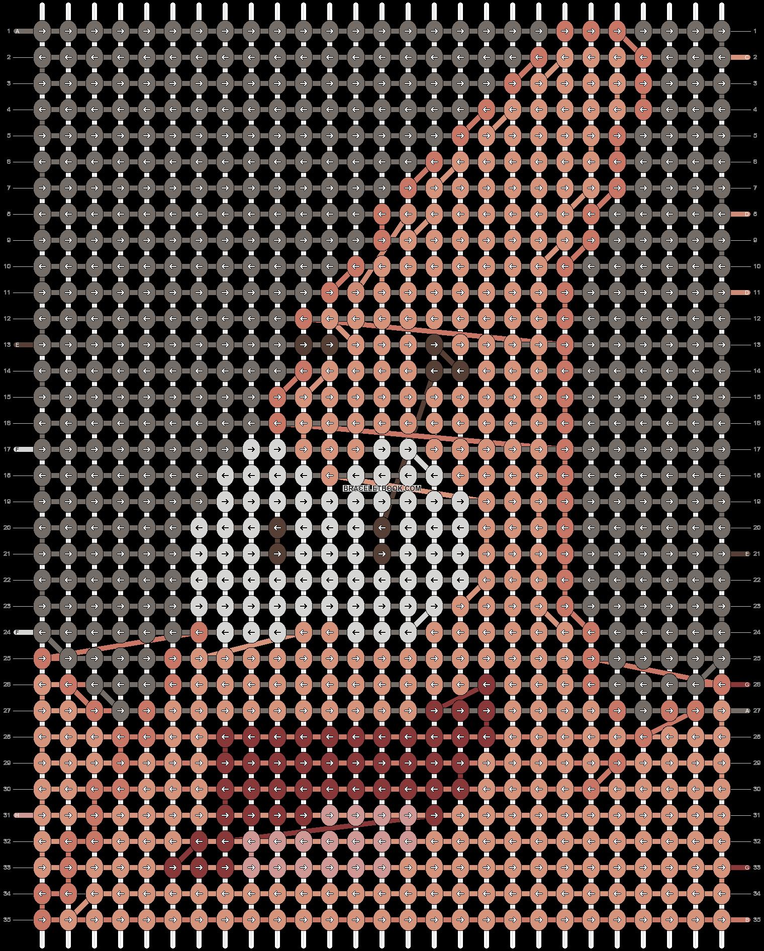 Alpha pattern #2133 pattern