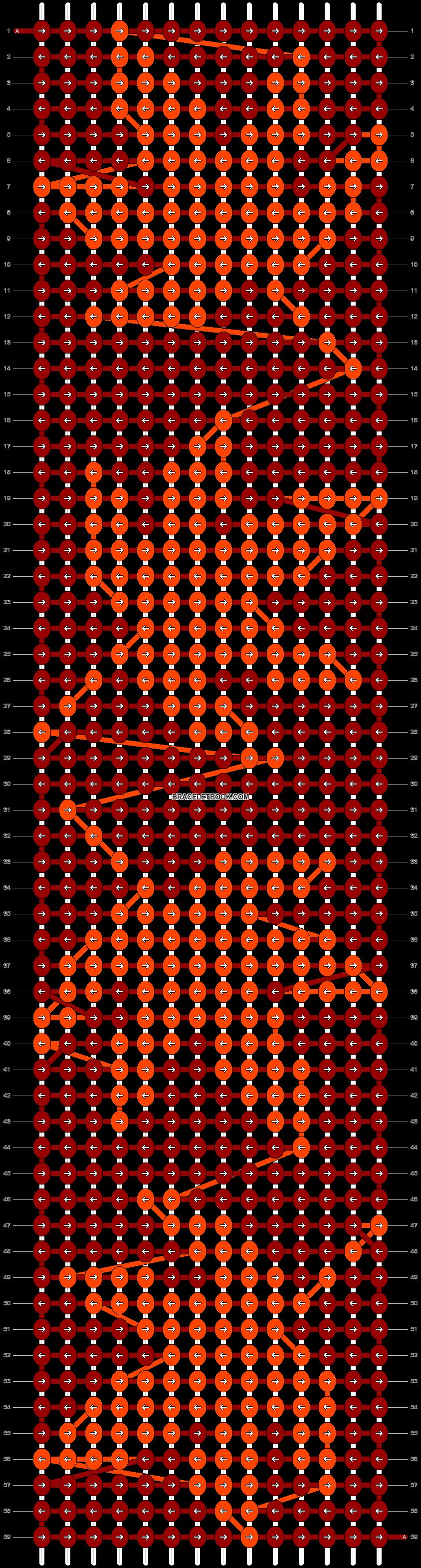 Alpha pattern #2139 pattern