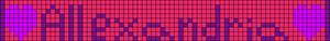 Alpha pattern #2172
