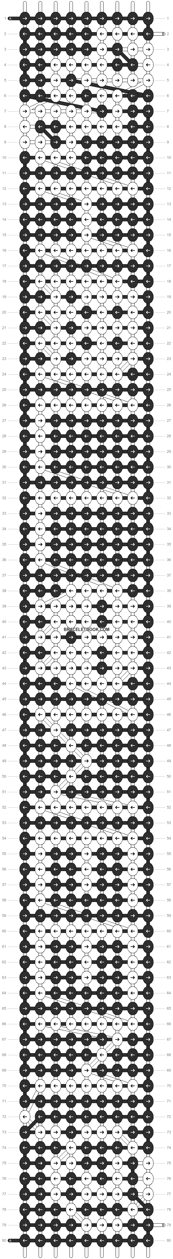 Alpha pattern #2176 pattern