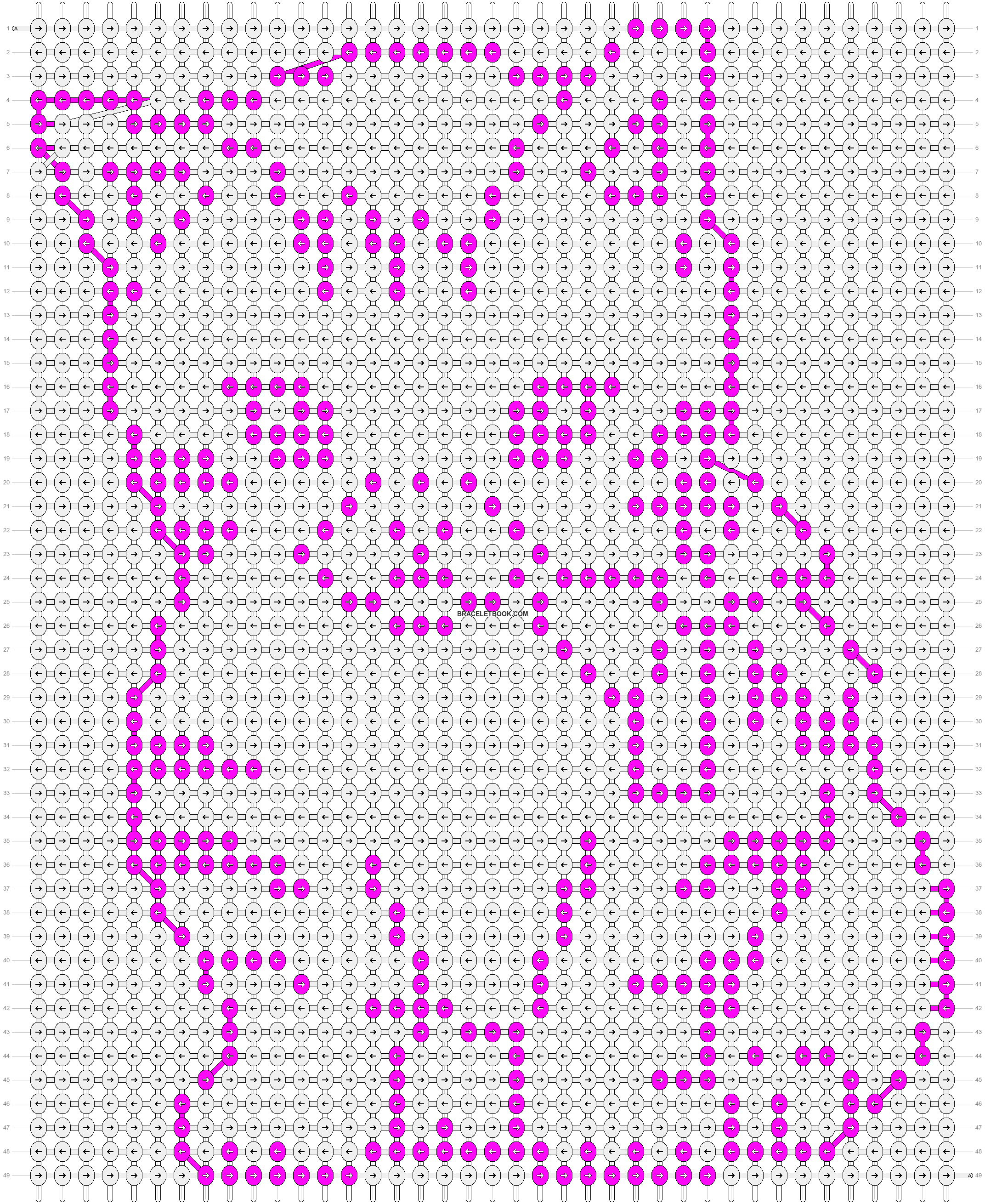 Alpha pattern #2177 pattern