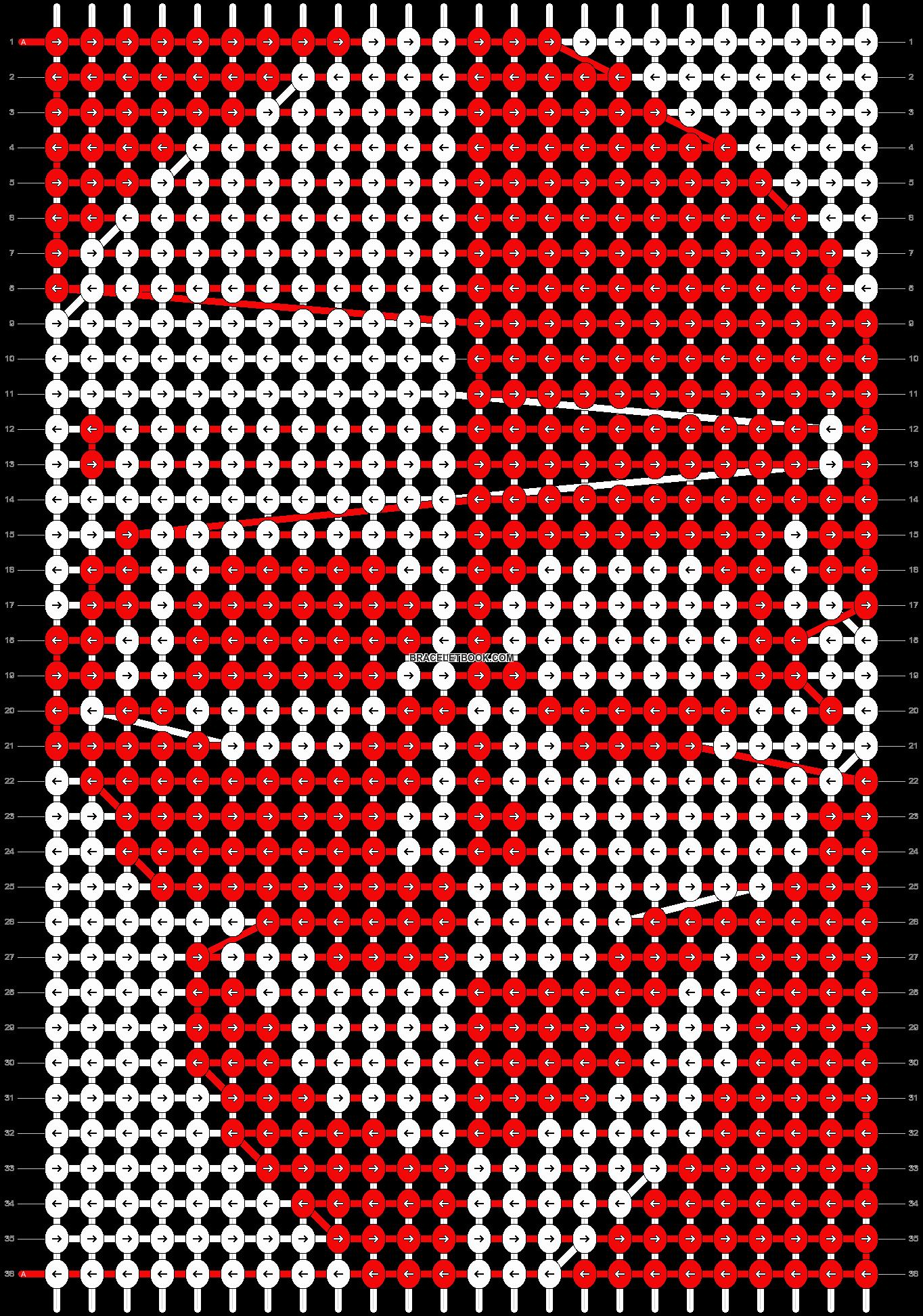 Alpha pattern #2180 pattern