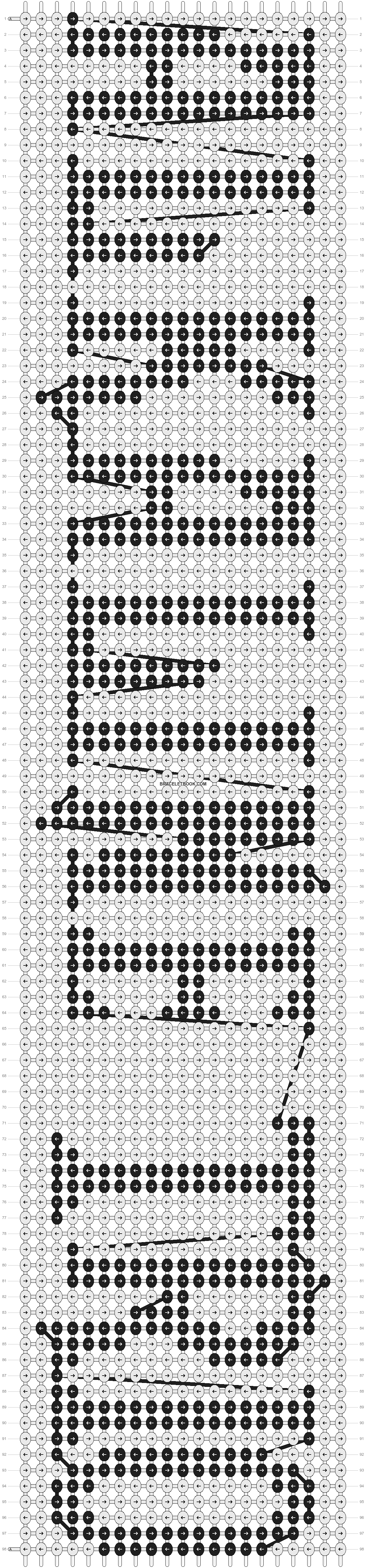 Alpha pattern #2188 pattern