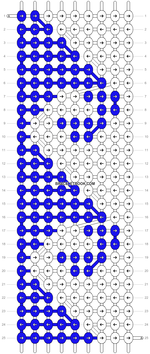 Alpha pattern #2190 pattern