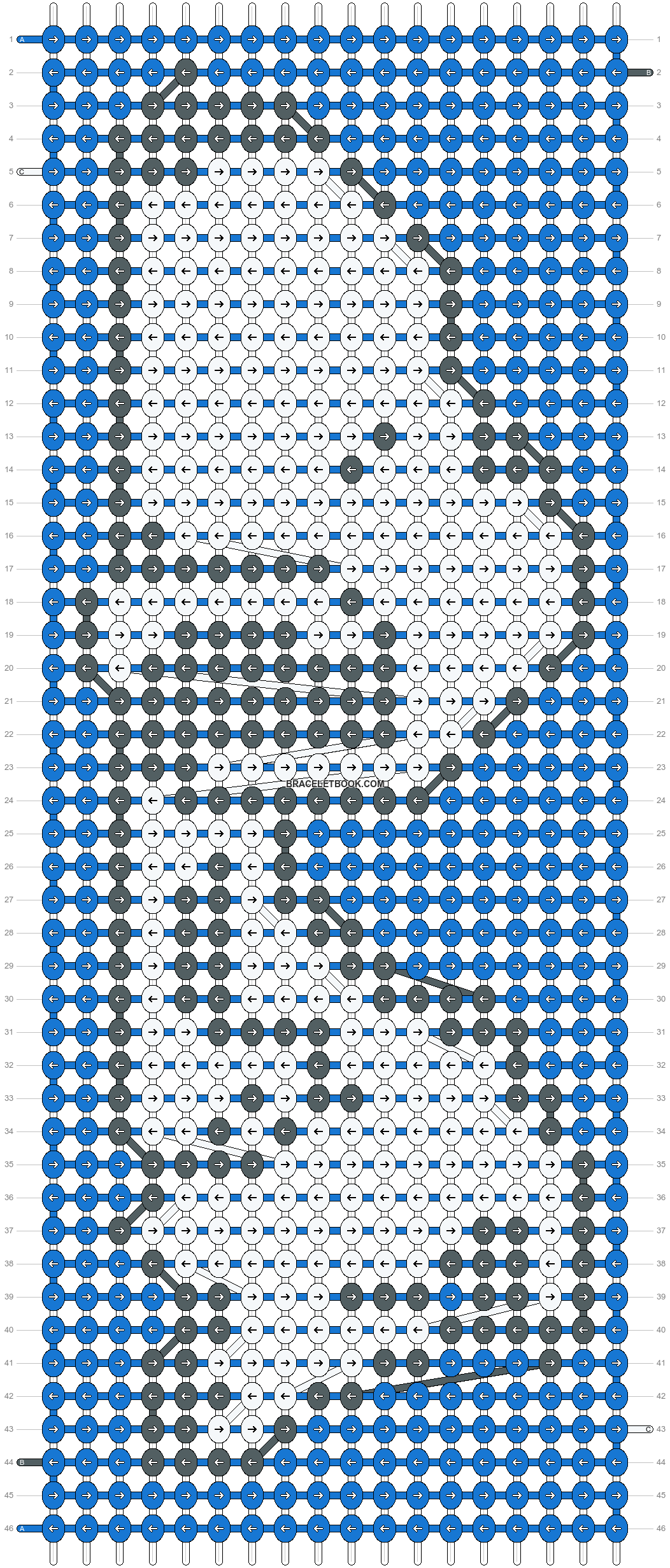 Alpha pattern #2194 pattern