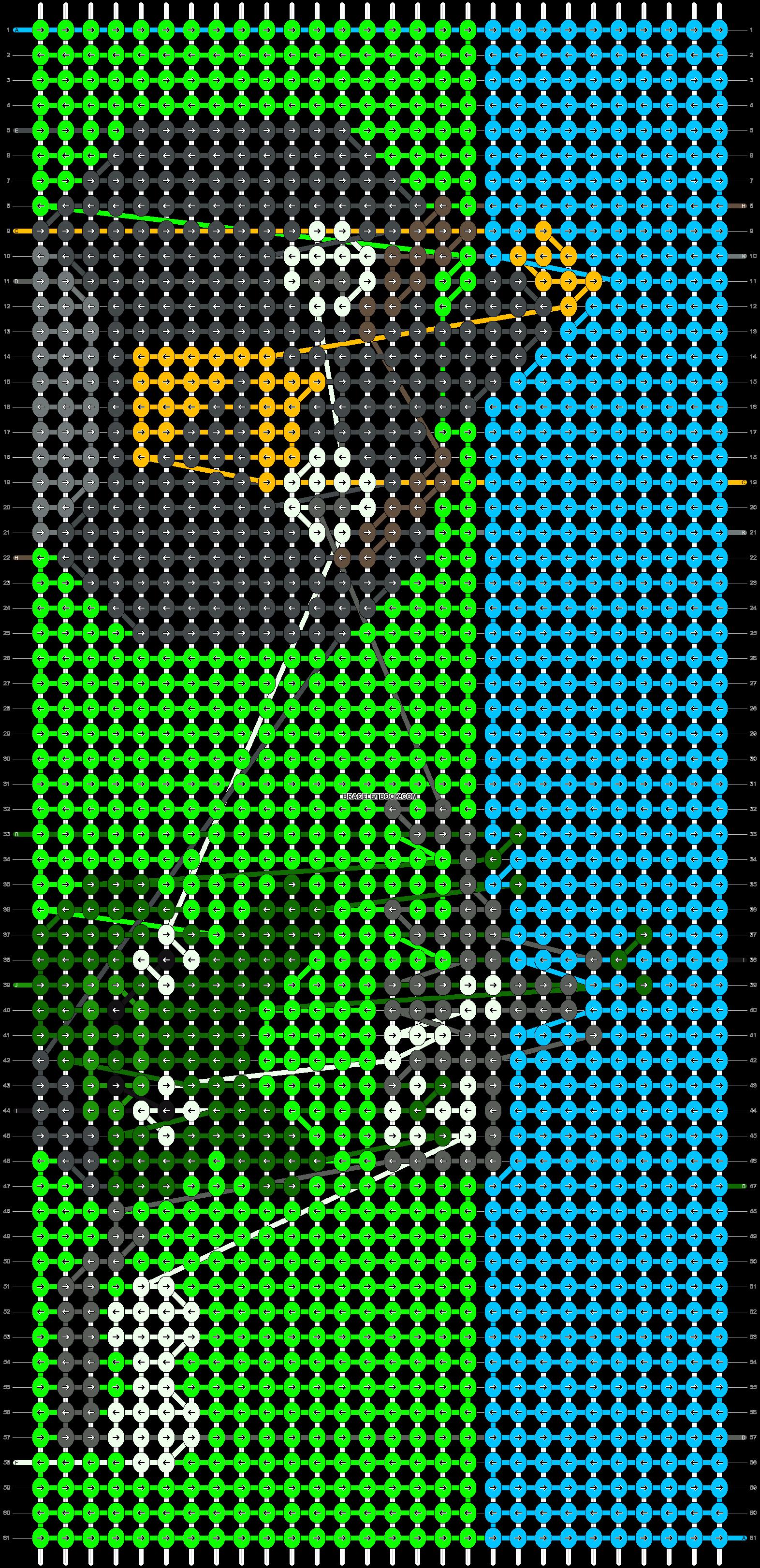 Alpha pattern #2196 pattern