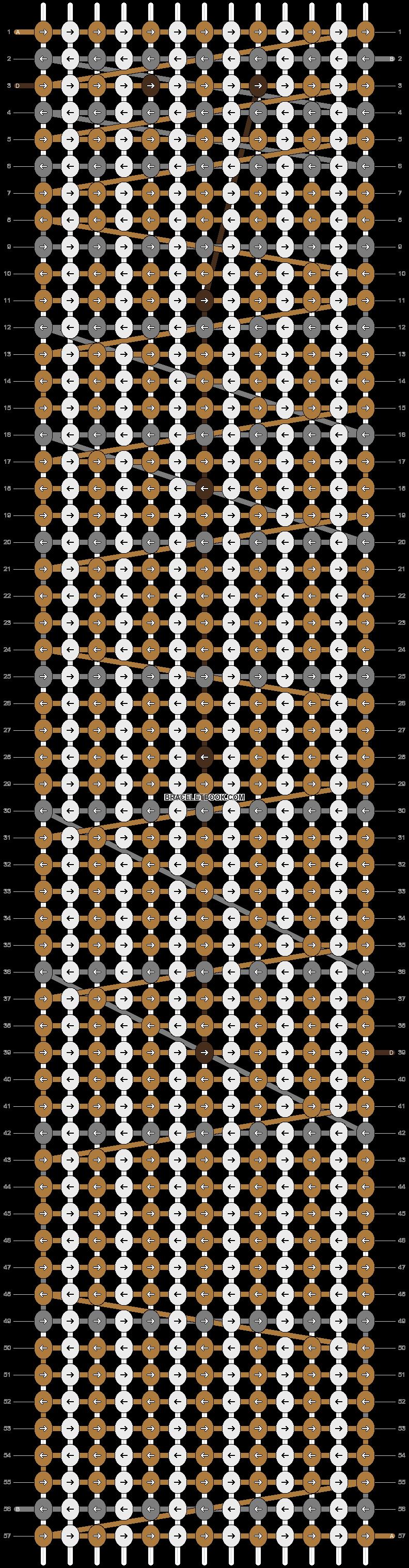 Alpha pattern #2210 pattern