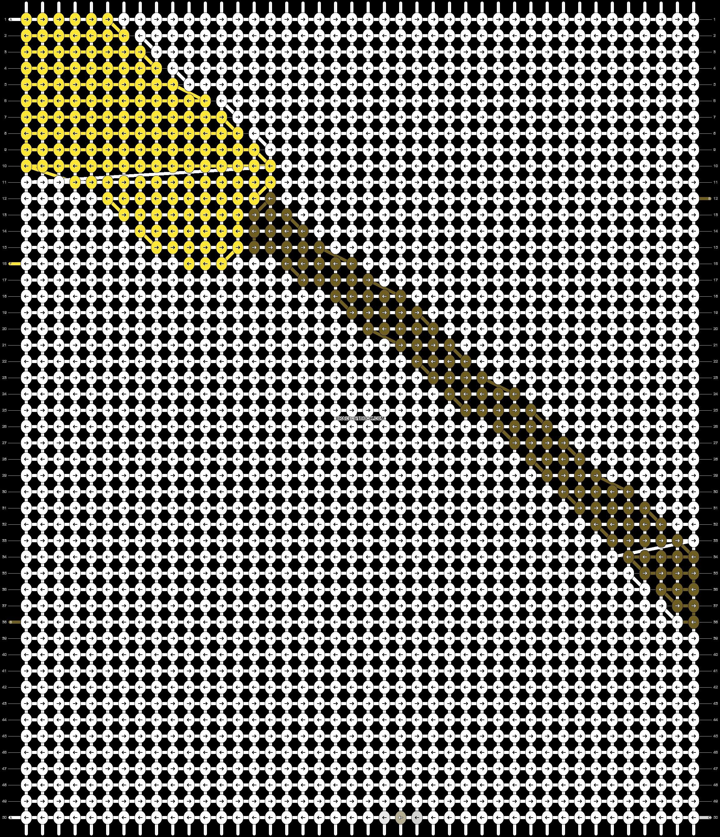 Alpha pattern #2220 pattern