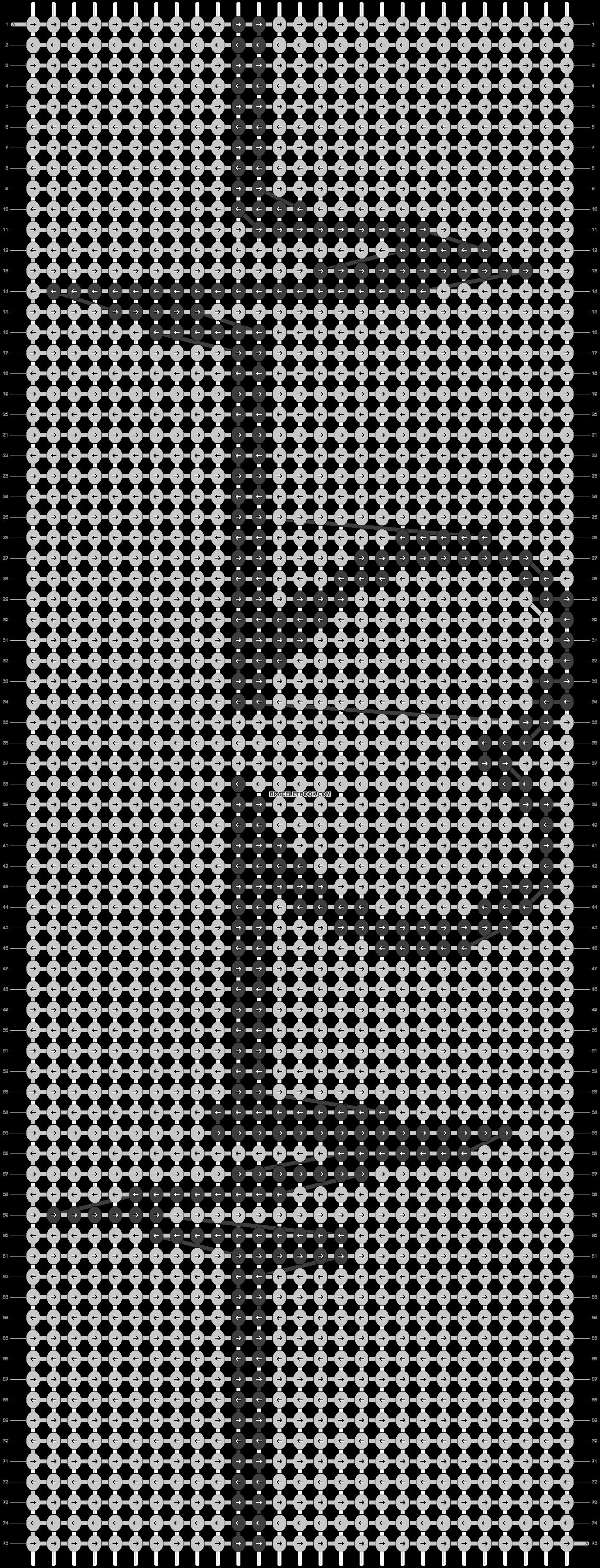 Alpha pattern #2231 pattern