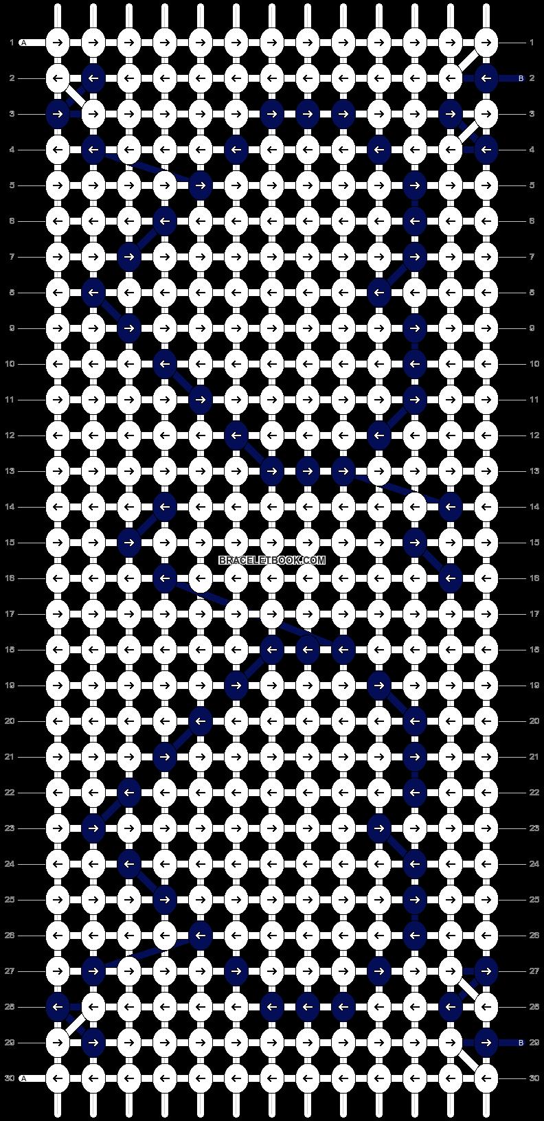 Alpha pattern #2233 pattern