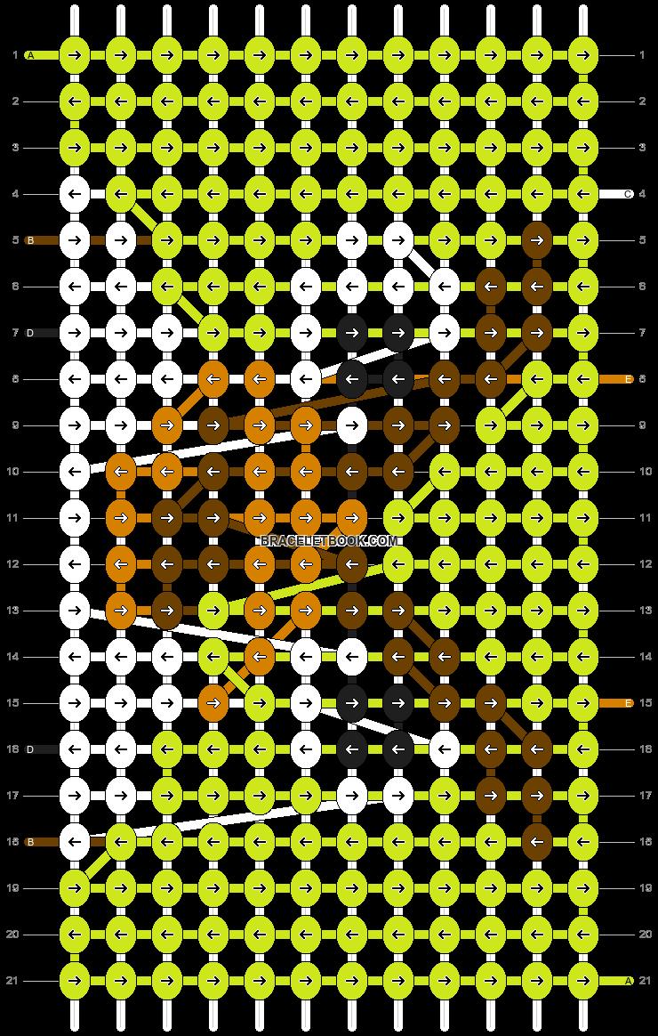 Alpha pattern #2235 pattern