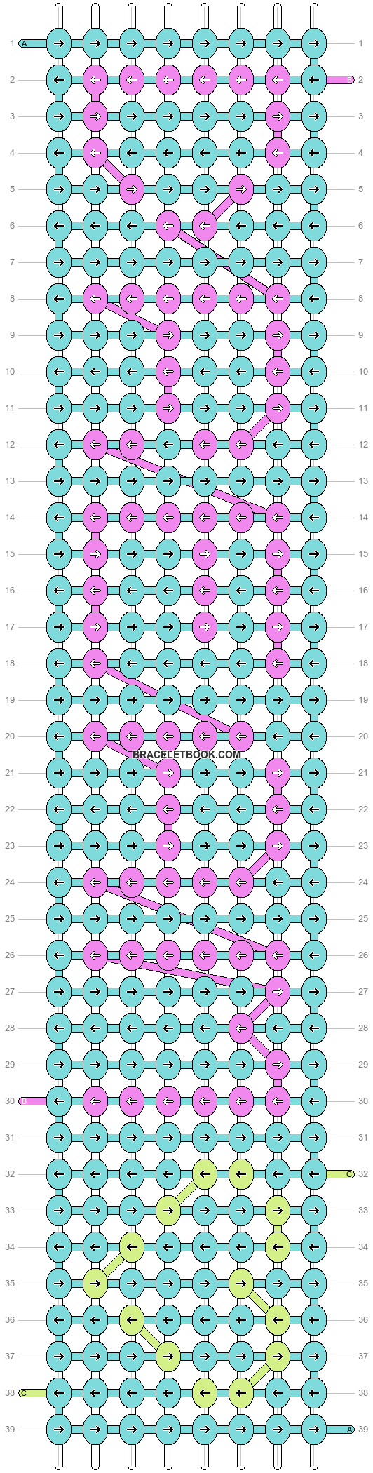 Alpha pattern #2237 pattern