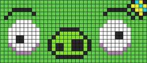 Alpha Friendship Bracelet Pattern #2241