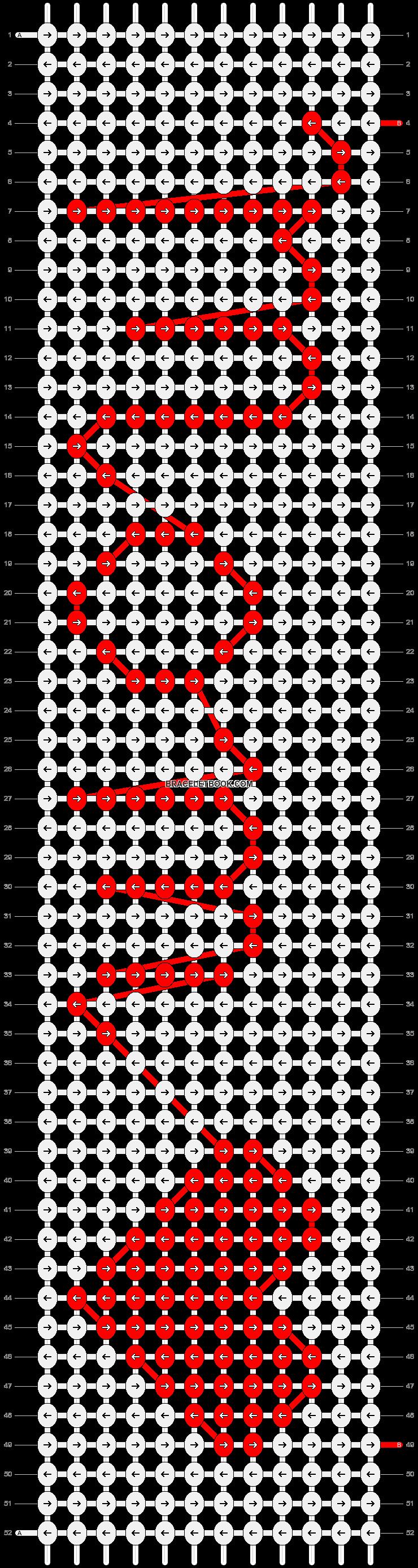 Alpha pattern #2250 pattern