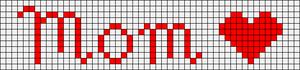 Alpha Friendship Bracelet Pattern #2250