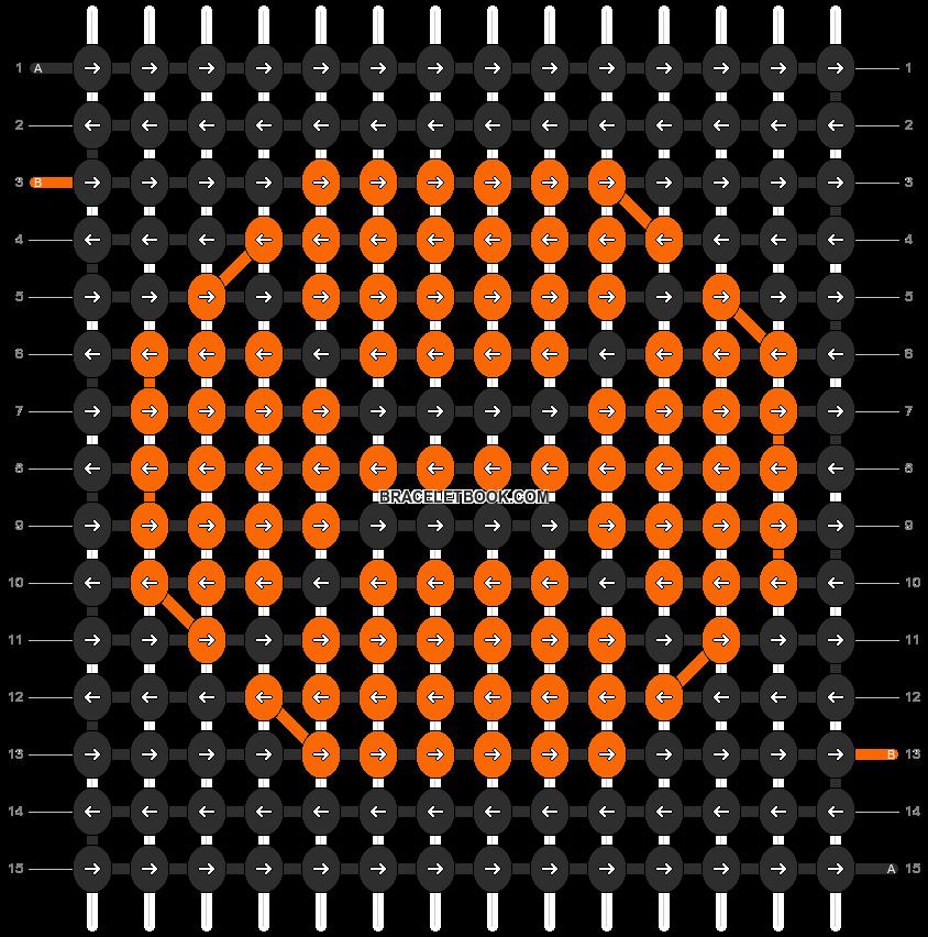 Alpha pattern #2255 pattern