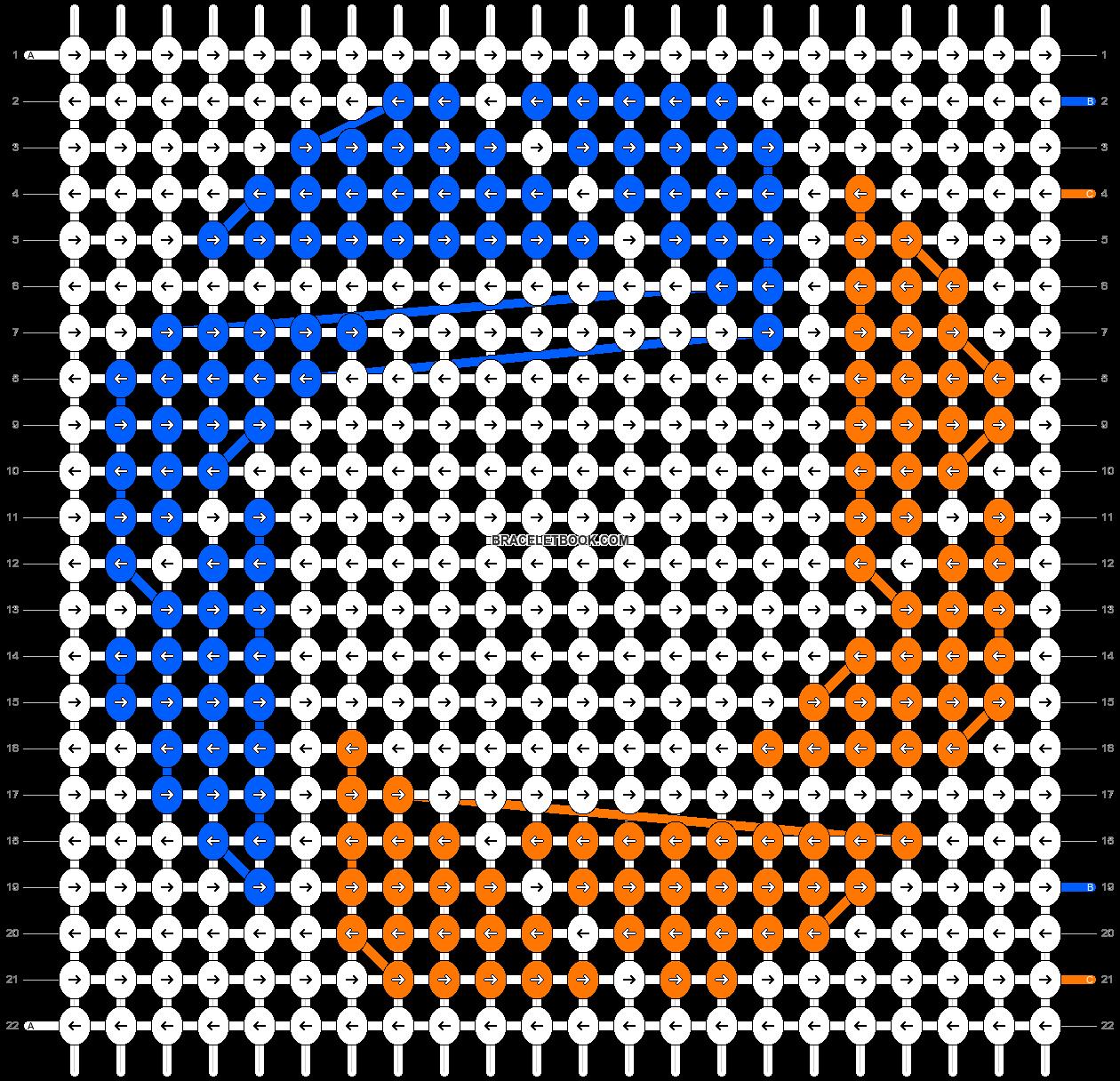 Alpha pattern #2268 pattern