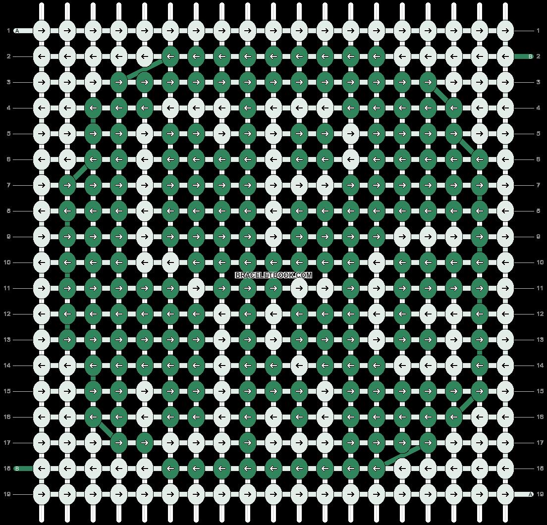 Alpha pattern #2283 pattern