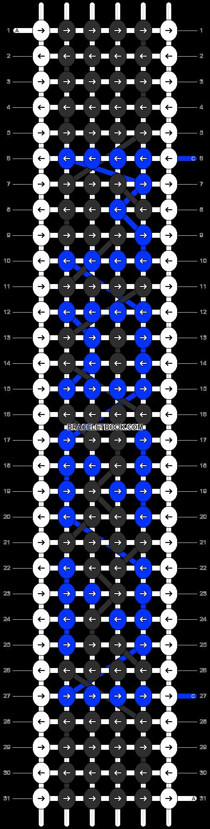 Alpha pattern #2289 pattern
