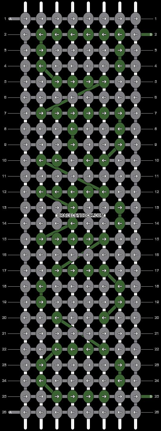 Alpha pattern #2294 pattern