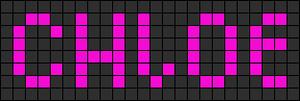 Alpha pattern #2322