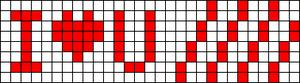 Alpha pattern #2323