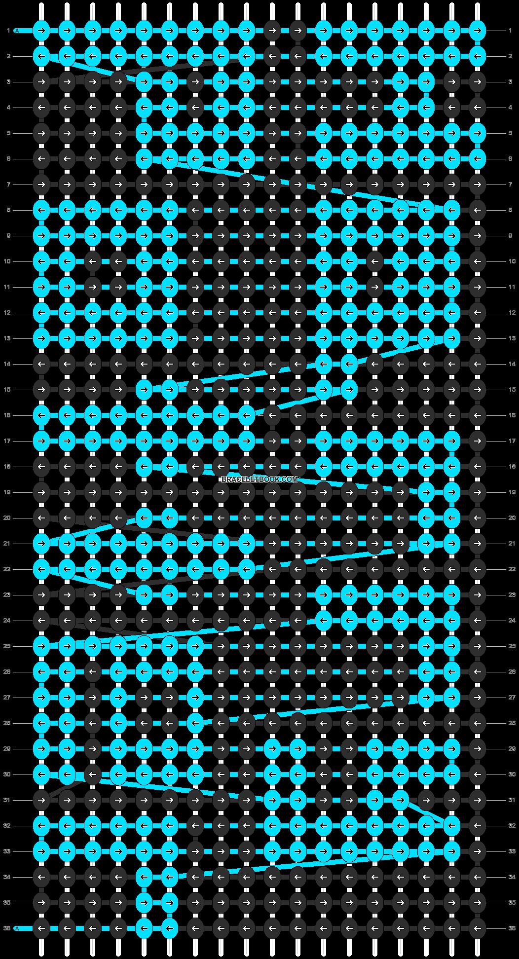 Alpha pattern #2331 pattern