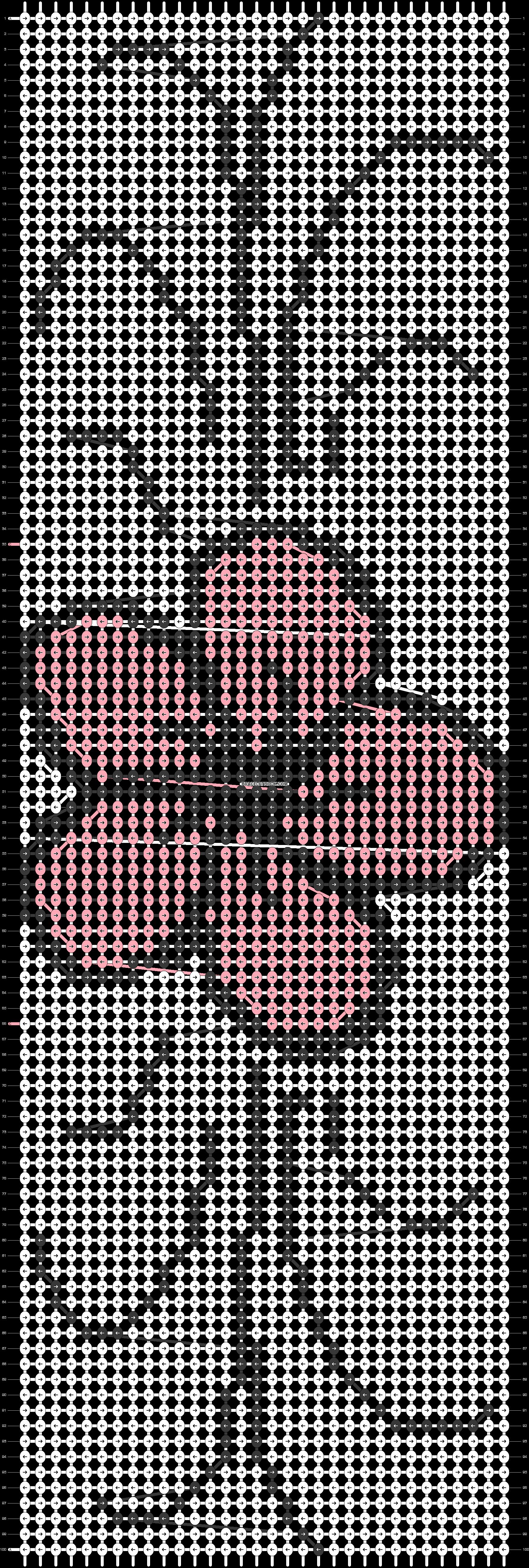 Alpha pattern #2347 pattern