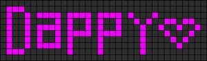 Alpha Friendship Bracelet Pattern #2368