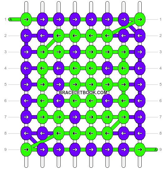 Alpha pattern #2383 pattern