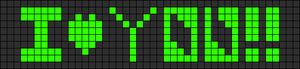 Alpha pattern #2396